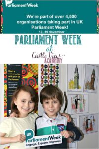 Castle View Academy participates in Parliament Week 2017