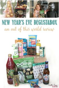 December Degustabox contents at Castle View Academy