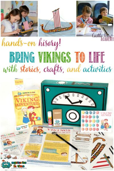 Hands on history with Mysteries In Time, Viking Explorers, a review by Castle View Academy homeschool