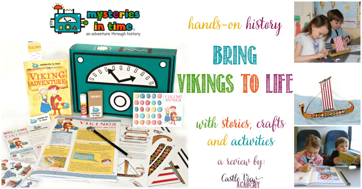 Hands on history with Mysteries In Time, Viking Explorers, a review by Castle View Academy