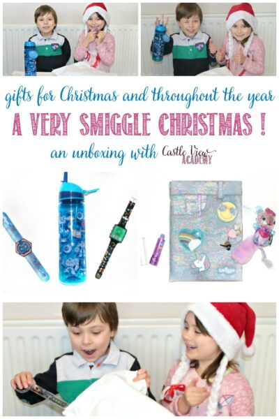 Have a very Smiggle Christmas with Castle View Academy