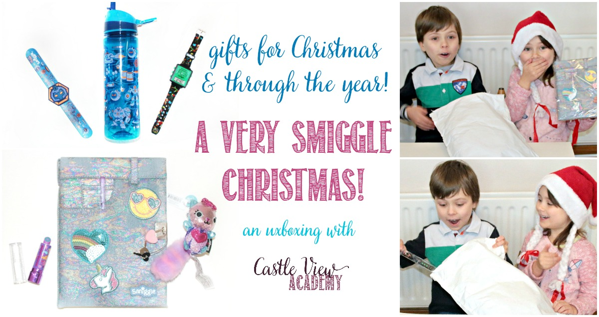 Have a very Smiggle Christmas with Castle View Academy homeschool