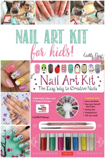 Nail Art Kit For Kids, a review by Castle View Academy