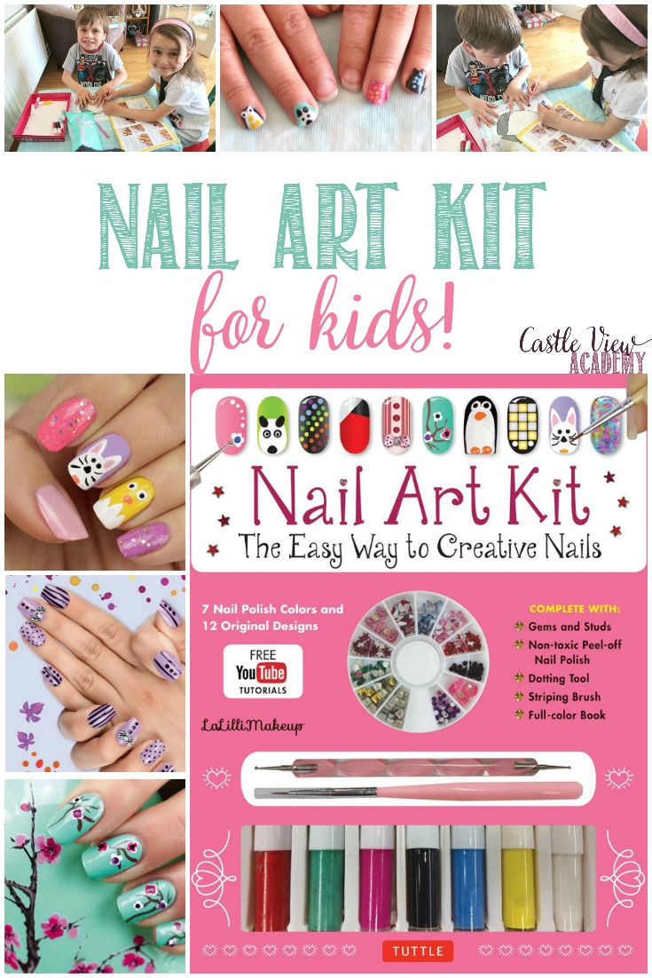 A Nail Art Kit isn't something I would expect Tuttle Publishing to produce but they do have  really nifty arts and crafts books, so let's take a closer look. Read the review by Castle View Academy homeschool
