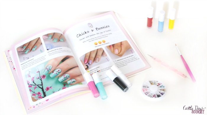 Nail Art for kids contents at Castle View Academy homeschool