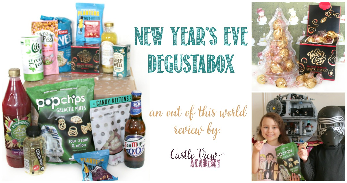 New Year's Eve Degustabox review at Castle View Academy