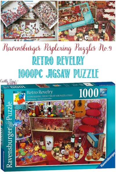 Retro Revelry Jigsaw Puzzle review at Castle View Academy