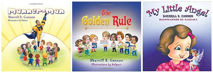 Sherrill S Cannon has books about manners for kids at Castle View Academy