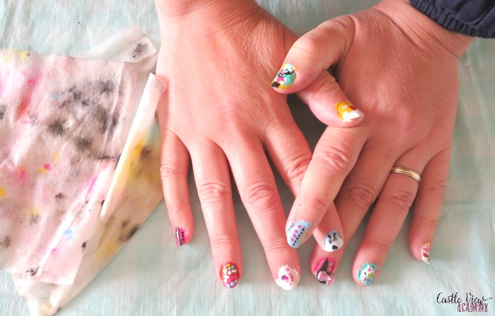Tuttle Publishing has nail art kits for kids, as tried out at Castle View Academy homeschool