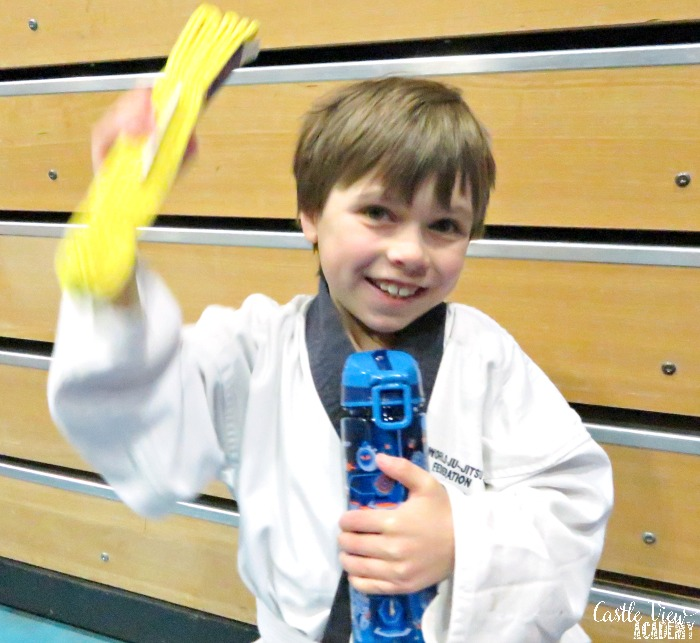 Yellow belt success at Castle View Academy