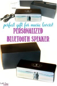 gocustomized bluetooth speaker is a perfect gift for music lovers like Castle View Academy
