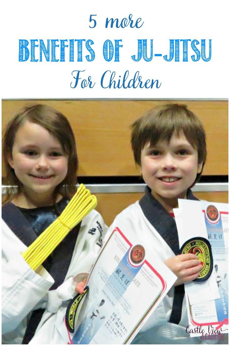 5 more Ju-jitsu benefits for children at Castle View Academy homeschool