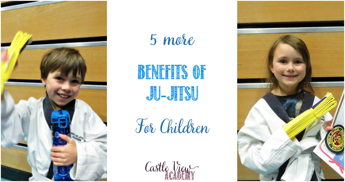 5 more benefits of Ju-jitsu for children at Castle View Academy homeschool