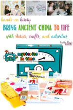 Castle View Academy homeschool reviews the Ancient China box from Mysteries In Time