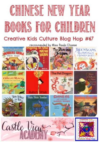 Chinese New Year Books at Castle View Academy homeschool