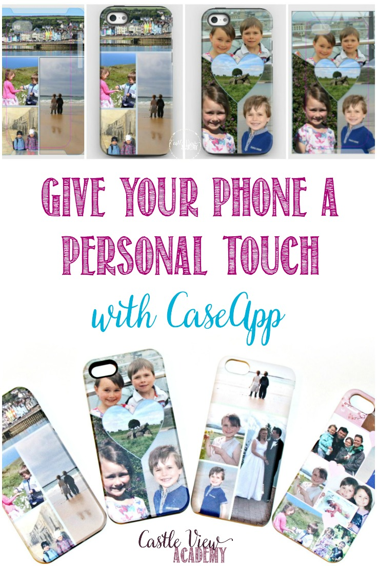 Whether you have a snazzy new phone or an older model; you will want to show it off every chance you get with a custom-designed cover from CaseApp! #Giveaway! A review by Castle View Academy homeschool