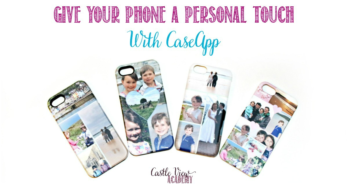 Give Your Phone A Personal Touch With CaseApp, a review by Castle View Academy