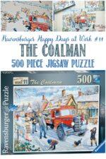 Waiting For The Coalman, Castle View Academy reviews a Ravensburger puzzle