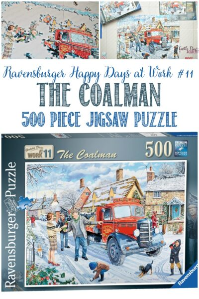 Waiting For The Coalman, Castle View Academy reviews a Ravensburger puzzle