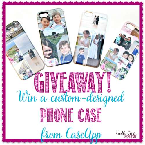 CaseApp Giveaway at Castle View Academy homeschool