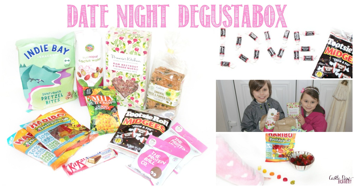 Castle View Academy explores the date night Degustabox