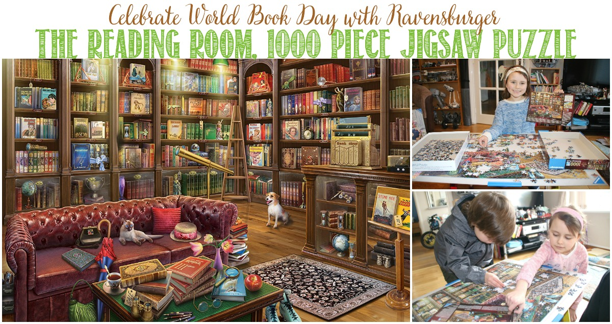 Castle View Academy reviews Ravensburger's The Reading Room Puzzle for World Book Day
