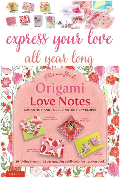 Castle View Academy reviews Tuttle Origami Love Notes