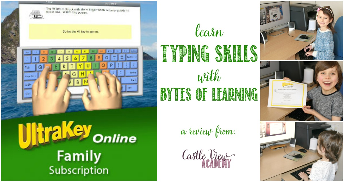Castle View Academy reviews Ultrakey Online typing course