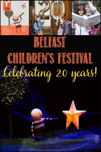 Celebrate 20 years of the Belfast Children's Festival with Castle View Academy homeschool