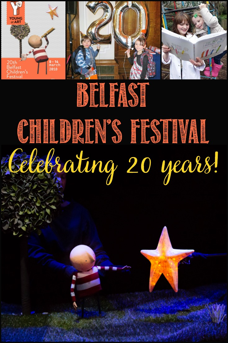 Belfast Children's Festival Celebrates 20 Years This March! There's something for every member of the family, find out more! #BCF18  #FamilyFun #WelcomeBelfast #Belfast #BestInBelfast  #Arts&Culture
