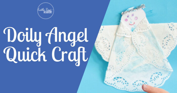 Doily Angel Easy Craft