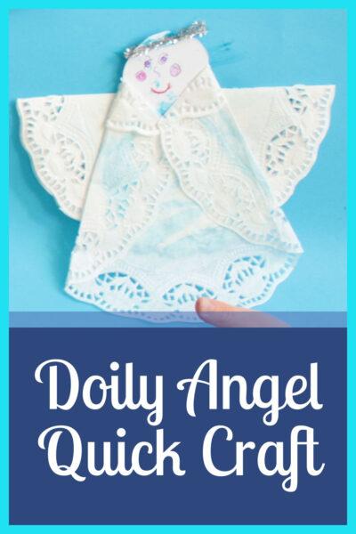 Doily Angel Quick Craft