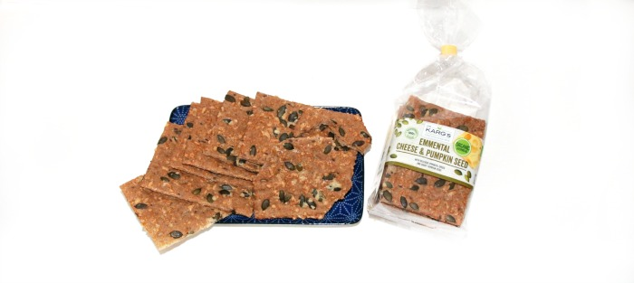 Emmental Cheese & Pumpkin Seed Crackers at Castle View Academy