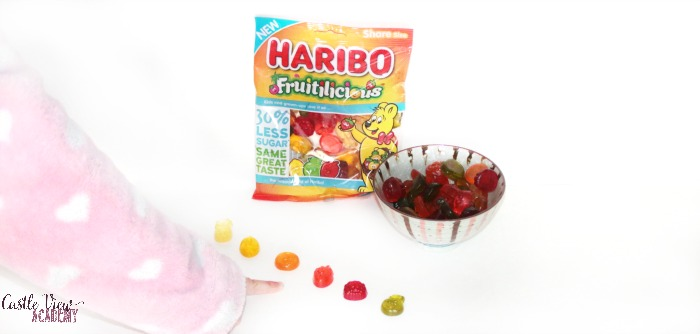 Haribo is a favourite at Castle View Academy