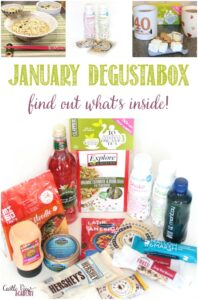 January Degustabox unboxed at Castle View Academy