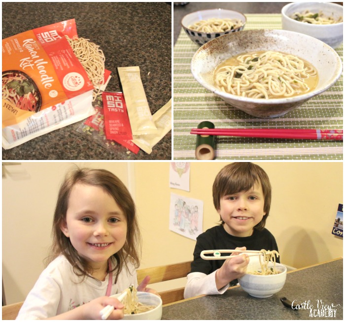 MiSo Ramen Noodle Kit and Castle View Academy