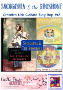 Sacagawea and the Shoshone CKCBH at Castle View Academy homeschool