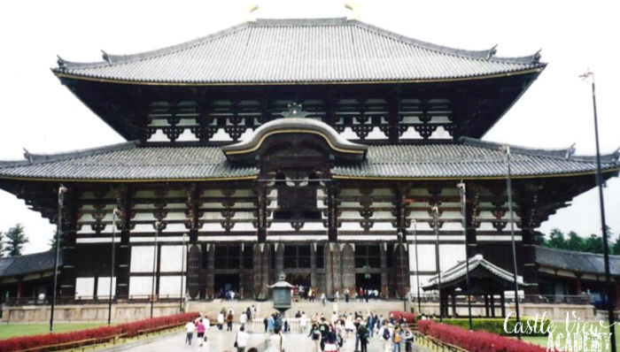 Todai-ji Temple, Nara, Japan, with Castle View Academy homeschool