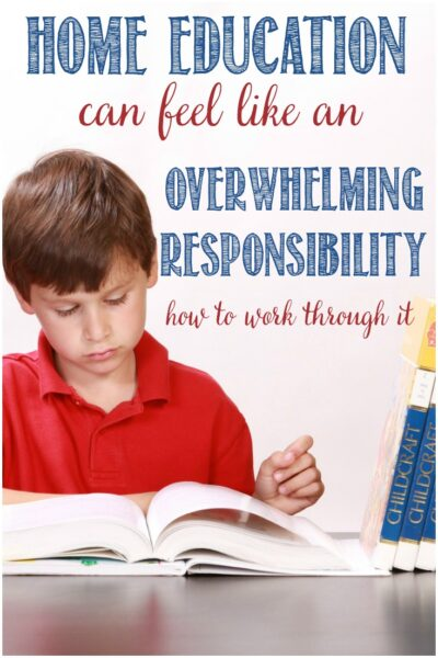 When home ed is overwhelming, how to overcome it, by Castle View Academy homeschool