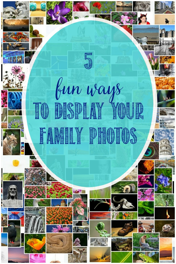 5 Fun Ways To Display Your Family Photos