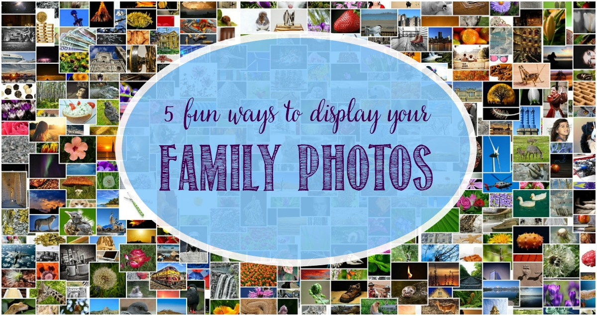 5 Fun Ways To Display Your Family Photos at Castle View Academy