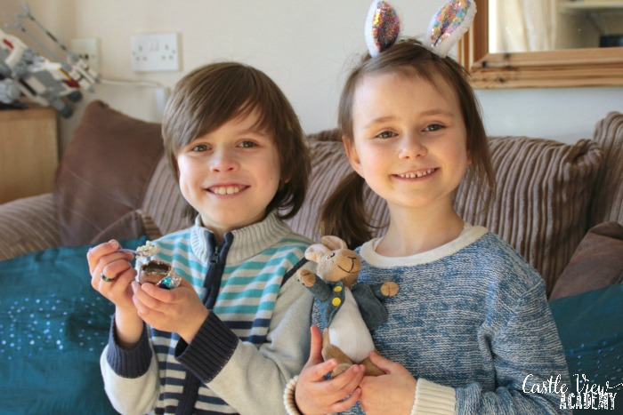 Castle View Academy enjoys Cadbury Oreo Egg 'n' Spoon with Peter Rabbit