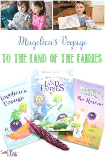 Castle View Academy homeschool reviews Magelica's Voyagae to the Land of the Fairies