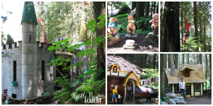 Castle View Academy on honeymoon at the Enchanted Forest in Canada