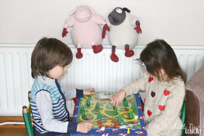Castle View Academy plays the Enchanted Forest by Ravensburger