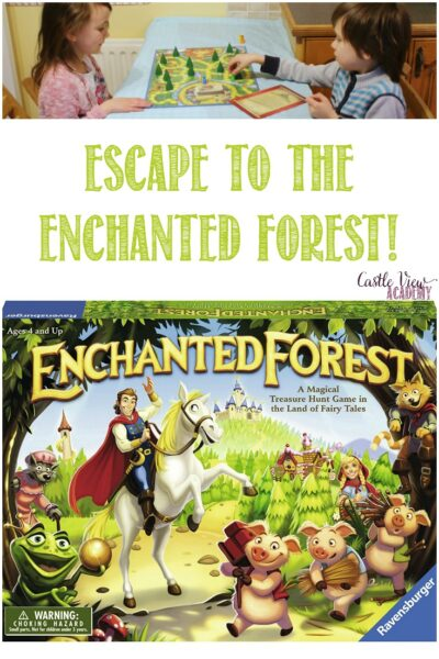 Castle View Academy reviews Enchanted Forest game by Ravensburger