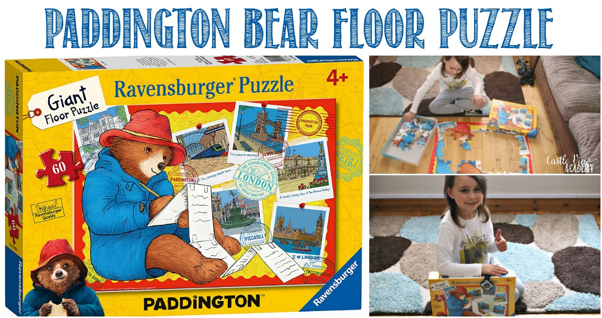 Castle View Academy reviews Paddigton Bear floor puzzle