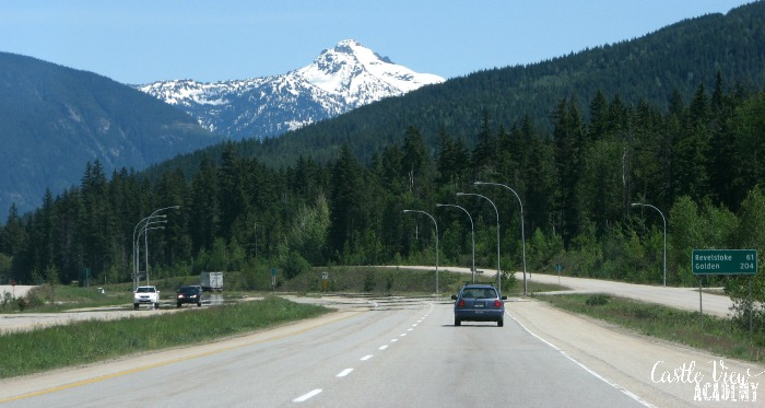 Castle View Academy uses math to drive through the Rocky Mountains of Canada