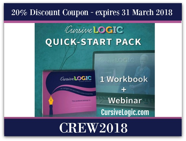 CursiveLogic-Quick-Start-Pack-Discount-Coupon-March-2018