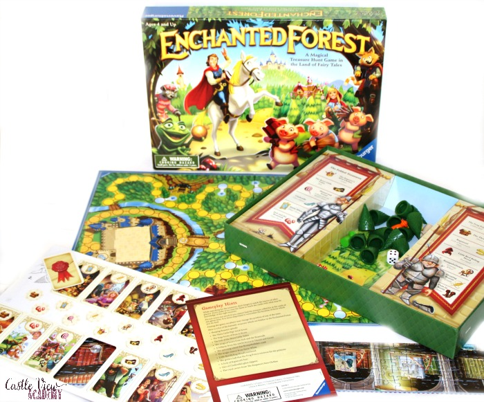 Enchanted Forest contents at Castle View Academy